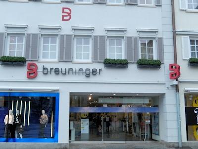 Breuninger Reutlingen